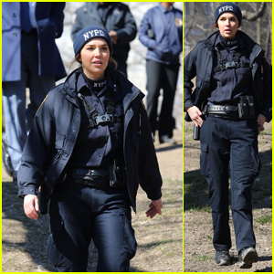 Arielle Kebbel Films 'The Bone Collector' Spinoff Series 'Lincoln' in NYC