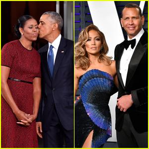 Barack & Michelle Obama Send Jennifer Lopez & Alex Rodriguez a Congratulations Note After Their Engagement!