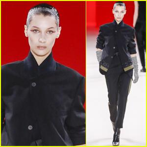 Bella Hadid Opens Haider Ackermann Fashion Show