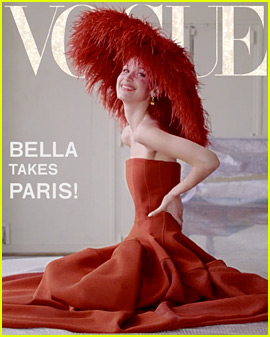 Bella Hadid Models Paris Fashion Week Looks for 'Vogue'