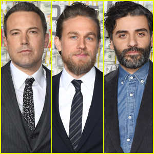 Ben Affleck, Charlie Hunnam, & Oscar Issac Suit Up for ' Triple Frontier' Premiere