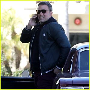 Ben Affleck Heads to a Business Lunch After 'Ellen' Appearance