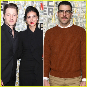 Ben McKenize & Wife Morena Baccarin Step Out for 'Triple Frontier' Premiere