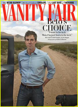 Beto O'Rourke Covers 'Vanity Fair,' Announces Presidential Bid