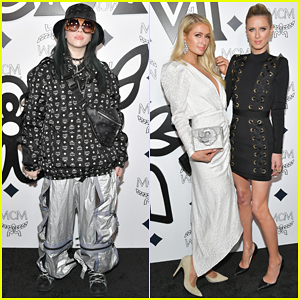 Billie Eilish, Paris & Nicky Hilton Celebrate MCM Global Flagship Store Opening!
