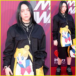 Billie Eilish Hits the Red Carpet at iHeartRadio Music Awards 2019!
