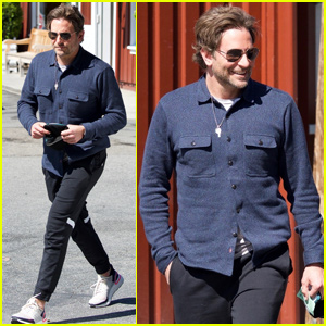 Bradley Cooper Meets Up With a David O. Russell For Lunch in Brentwood