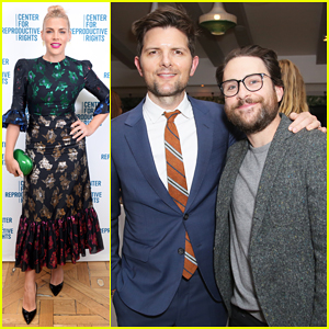 Busy Philipps, Adam Scott & More Show Support at Center for Reproductive Rights' L.A. Benefit!