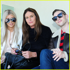 Caitlyn Jenner & Sophia Hutchins Join Adam Rippon at BNP Paribas Tennis Open!