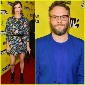 Charlize Theron & Seth Rogen Premiere 'Long Shot' at SXSW