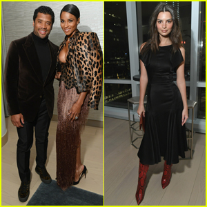 Ciara & Russell Wilson Join Emily Ratajkowski at InStyle Dinner in NYC