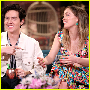 Cole Sprouse & Haley Lu Richardson Went to Strip Clubs Together - Watch!