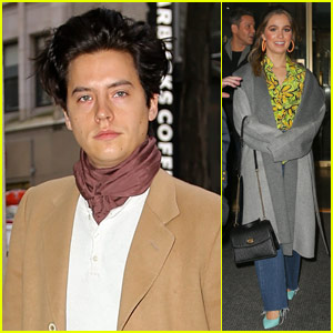 Cole Sprouse & Haley Lu Richardson Promote 'Five Feet Apart'