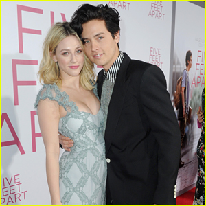 Cole Sprouse Gets Girlfriend Lili Reinhart's Support at 'Five Feet Apart' Premiere!