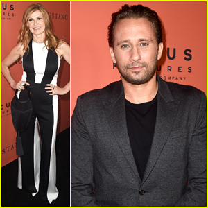 Connie Britton & Matthias Schoenaerts Celebrate 'The Mustang' at Hollywood Premiere - Watch Trailer!