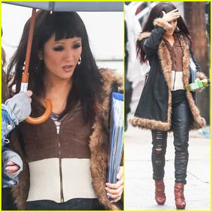 Constance Wu Begins Filming 'Hustlers' in NYC!