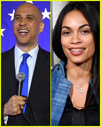 Cory Booker Gushes About His Girlfriend Rosario Dawson!