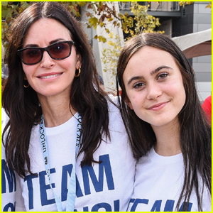 Courteney Cox's Daughter Coco Shows Off Incredible Vocal Chops During Charity Event