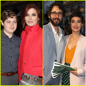 Debra Messing & Son Roman Join Josh Groban & Girlfriend Schuyler Helford at 'Ain't Too Proud' Broadway Opening