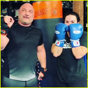 Demi Lovato Accidentally Knocks Her Trainer's Tooth Out - Watch!