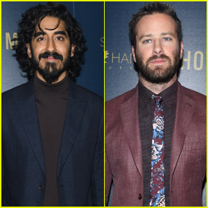 Dev Patel & Armie Hammer Step Out for 'Hotel Mumbai' Screening in NYC