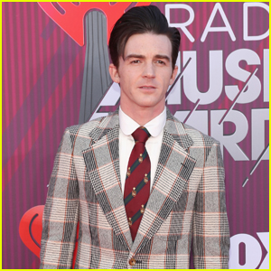 Drake Bell Sports Plaid Suit for iHeartRadio Music Awards 2019