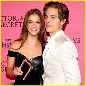 Dylan Sprouse Congratulates Girlfriend Barbara Palvin on Becoming a VS Angel