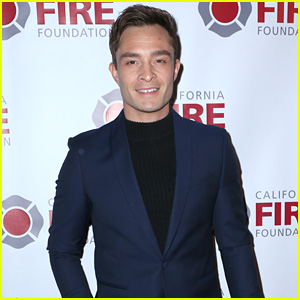 Ed Westwick Attends California Fire Foundation's ...