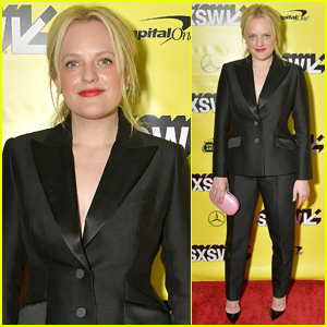 Elisabeth Moss Suits Up for 'Her Smell' Premiere at SXSW