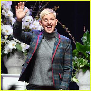 Ellen DeGeneres Gets Support From Wife Portia de Rossi During Toronto Tour!
