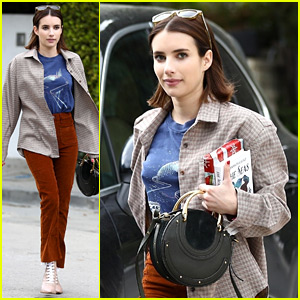 Emma Roberts Steps Out After Big Update on Her Dating Life