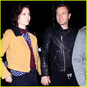 Ewan McGregor & Girlfriend Mary Elizabeth Winstead Photographed During Rare Appearance Together