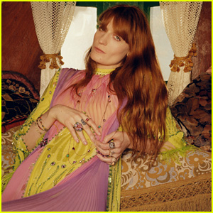 Florence Welch Poses for Gucci Jewelry Campaign