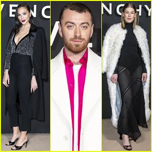 Gal Gadot & Sam Smith Sit Front Row at Givenchy Paris Show!