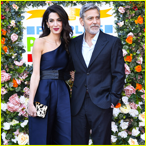 George & Amal Clooney Get Honored Together at People's Postcode Lottery Charity Gala!