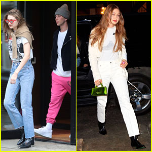 Gigi Hadid Joins a Friend For Brunch Outing in NYC