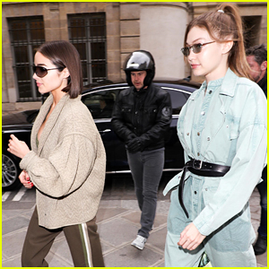 Gigi Hadid Hangs with Olivia Culpo During Paris Fashion Week!