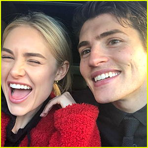 Gregg Sulkin Responds to Jimmy Kimmel's Suggestion That His Girlfriend Michelle Should Be the Next 'Bachelorette'