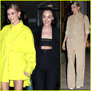 Hailey Bieber Is All Smiles After Busy Day For Paris Fashion Week