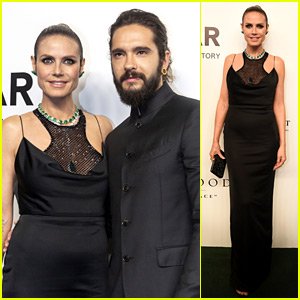 Heidi Klum & Tom Kaulitz Couple Up for amfAR Gala in Hong Kong