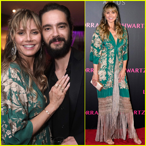 Heidi Klum is Joined by Fiance Tom Kaulitz at Lorraine Schwartz Party in Hong Kong!