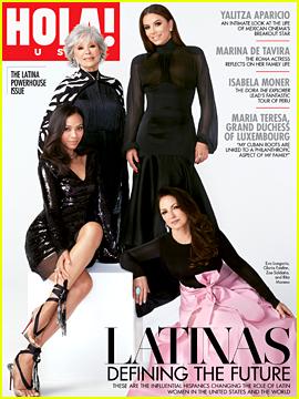 Rita Moreno & Gloria Estefan Join Eva Longoria & Zoe Saldana to Discuss the Women That Shaped Their Lives