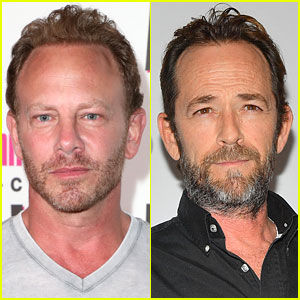 Ian Ziering Remembers '90210' Co-Star Luke Perry After His Death