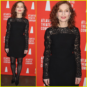 Isabelle Huppert Celebrates 'The Mother' Opening Night in NYC!