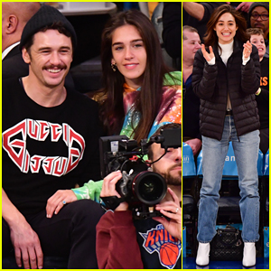 James Franco & Girlfriend Isabel Pakzad Have Date Night at Lakers Game!