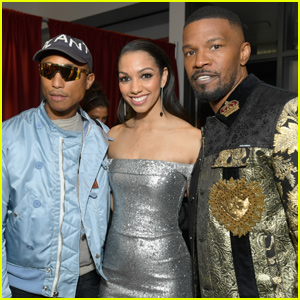 Jamie Foxx & Pharrell Williams Meet Up at iHeartRadio Music Awards 2019!