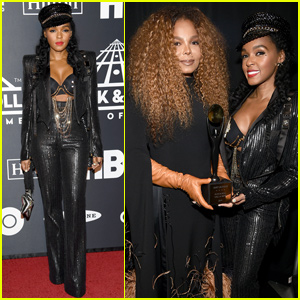 Janelle Monae Honors Janet Jackson at Rock & Roll Hall Of Fame Induction Ceremony!