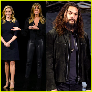 Reese Witherspoon, Jennifer Aniston & Jason Momoa Add Star Power to Apple Event!