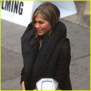 Jennifer Aniston & Adam Sandler Film 'Murder Mystery' Reshoots