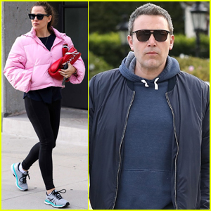 Jennifer Garner & Ben Affleck Step Out Separately in Los Angeles
